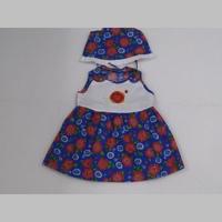 м.92 Комлект (платье+панама)