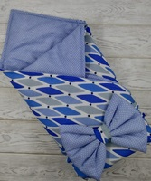 "м.70 Одеяло на выписку ""Бантик"""
