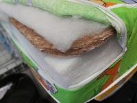 Матрас (кокос 1см+холлофайбер блок)