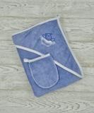 м.407 Уголок д/купания махра+рукавичка (с вышивкой)